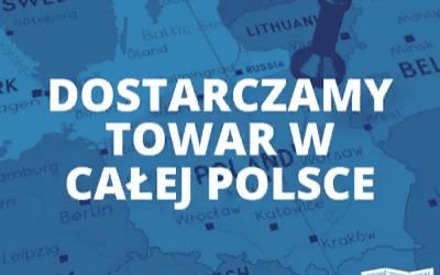 Dostarczamy towar w całej Polsce